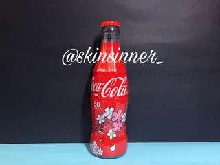 台灣可口可樂50週年版-花卉瓶