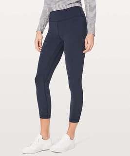 Lululemon Align Pant II BLACK/TRUE NAVY