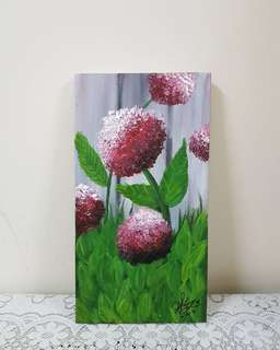 Nature on canvas.