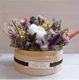 Mother's Day Special Dim Sum Basket Flowers