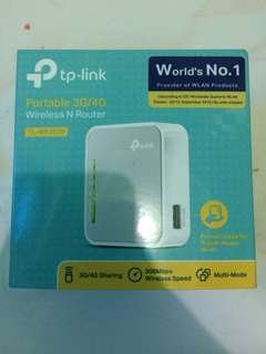 TP LINK portable 3G/4G Wireless N Router (Wifi/Modem)