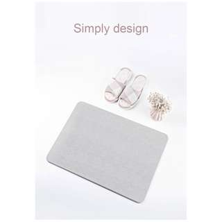 Xiaomi Mijia Diatoms Area Rug Carpet Water Absorption Anti slip Bathroom Mat Grey