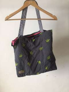 Zipper tote bag free ongkir