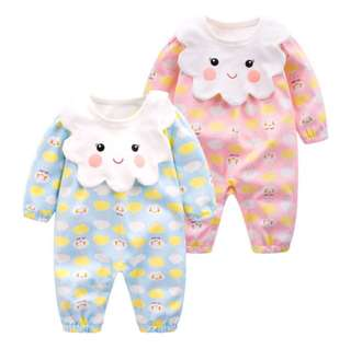 Newborn baby long-sleeved clothes 0-3-6 months