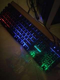彩光鍵盤 全新冇用過