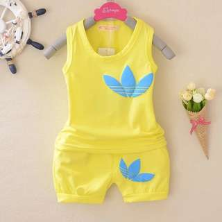 ADIDAS CHILDREN clothing set