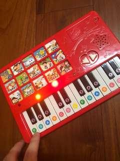 🚚 免費❤️兒歌鋼琴音樂鍵盤