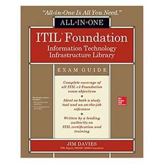 ITIL Foundation All-in-One Exam Guide 1st Edition, Kindle Edition by Jim Davies  (Author)