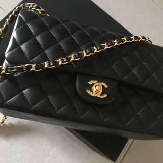 Chanel Classic Lamb Skin (not genuine)