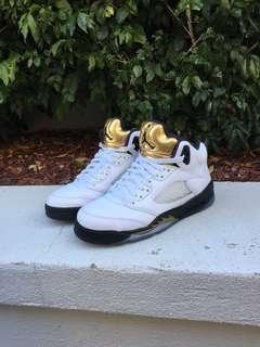 Air Jordan 5 Retro GS Olympic