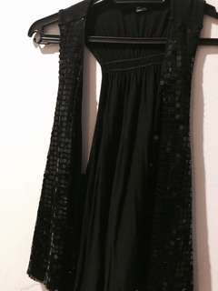 Sequins Black Overall  #20under