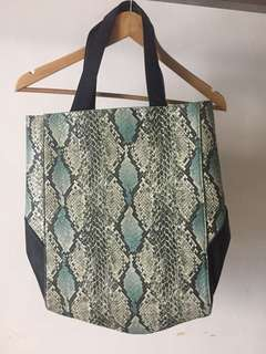 Tote bag kulit free ongkir