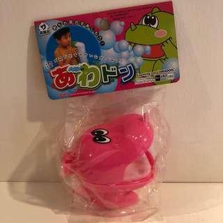 "Daiso foaming toy (pink dinosaur ""awadon"") #20Under"