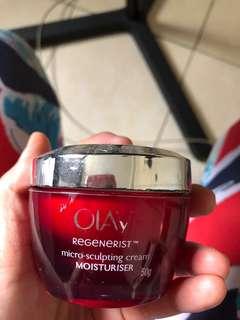 Olay regenerist moisturiser cream