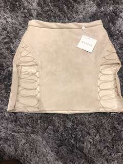 Meshki Lace Up Skirt