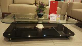 Baara coffe table A glass clear