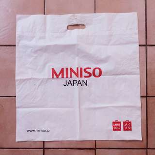 PAPER BAG MINISO