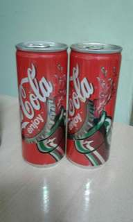 Coke Cans(Year 2003 Japan Version)