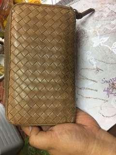 Bottega veneta lomg zippy wallet