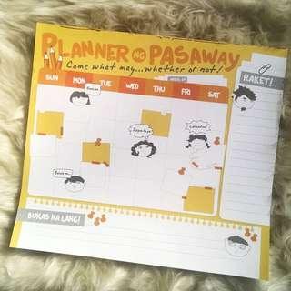 Planner ng Pasaway