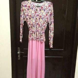 #HOREGAJIAN Pink Flower Syar'i