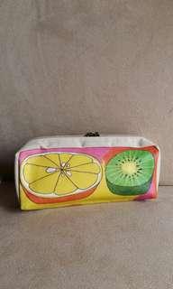 Orange kiwi pouch