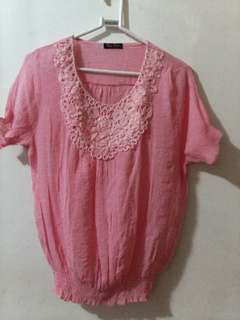 Peach top Php 120 - Unused