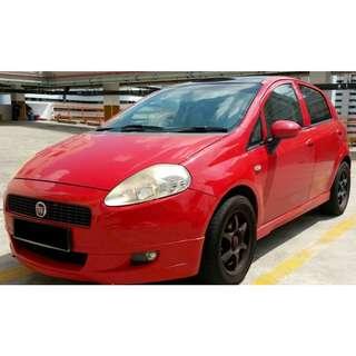 Fiat Grande Punto 1.4A Dynamic 5DR Sunroof