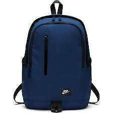 New Nike backpack with laptop sleeve Blue BA4857-431