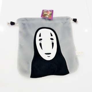 ☆ Spirited Away 👻 Kaonashi / No-Face / Faceless Draw-string Pouch