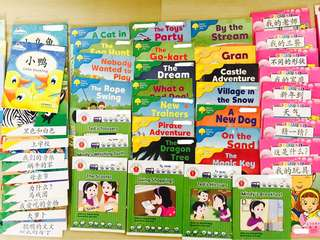 83 Pre-School Books/ Readers Flashcards Phonics Chinese English