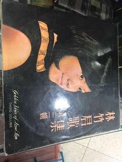 林竹君黑膠唱片,售:80元
