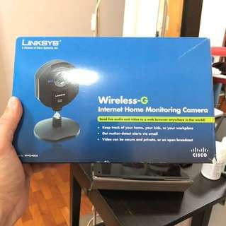 Wireless Home Monitoring Camera (LinkSys) *Reduced*