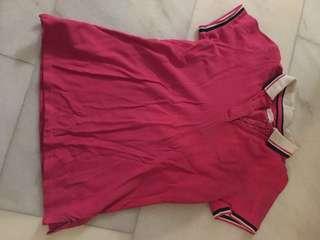 Padini pink collar shirt