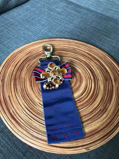 Real & authentic Aspinal of London clutch & wallet strap