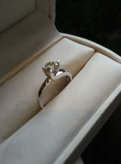 Diamond Ring Authentic Solitaire (Brand New)