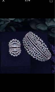 Silver 925 bangle & ring