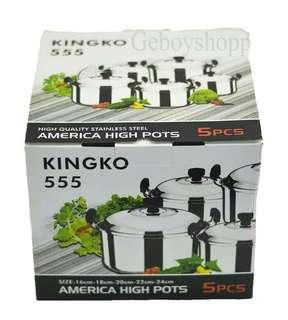 Panci Kingko 555 non steamer
