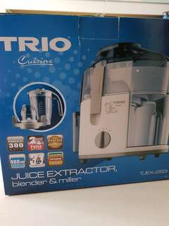 Trio juice extractor 3-in-1(Pre-loved)