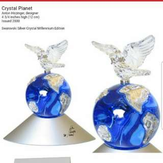 Swarovski 水晶擺設 planet