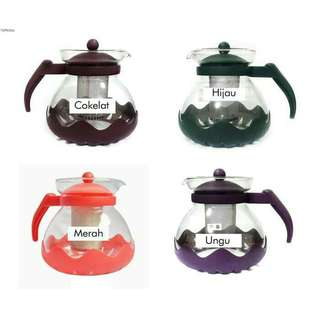 Tea pot premier 1500ML saringan teh bahan stainless steel