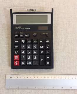 Canon Calculator -5 x 7inches (Big)