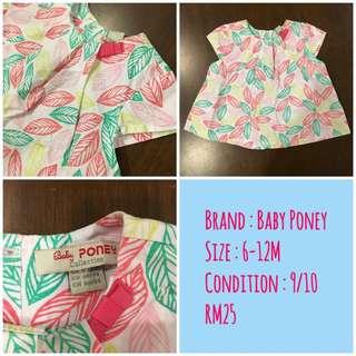 Baby Poney Girl Dress
