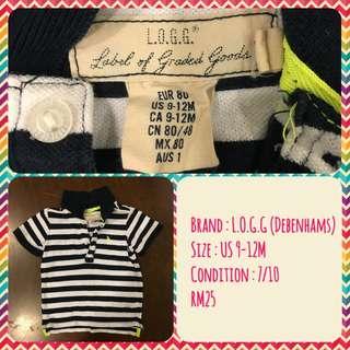 Boy Shirt Debenhams L.O.G.G