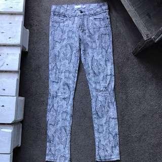 Snakeskin Jeans