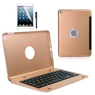 648. Keyboard Case for iPad mini 4 (Gold)