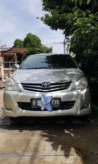 Jual Toyota Kijang Innova 2.0G AT thn 2010