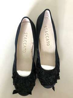 Staccato genuine leather shoes