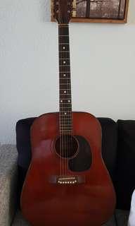 1960s Eko Vintage Acoustic Guitar