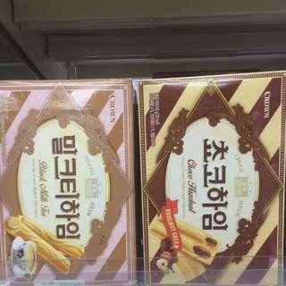 韓國夾心餅